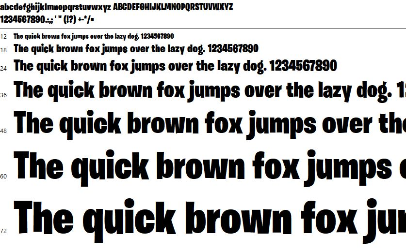 Fortnite Font Free Download You may use this font as permitted by the eula for the product in which this font is included to display and print. best designs blog
