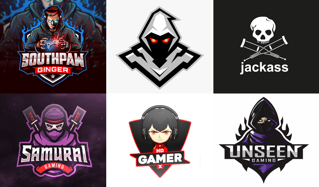 Characters - logo for gamers