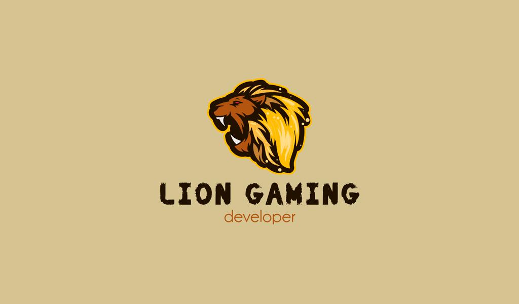 lion game logo