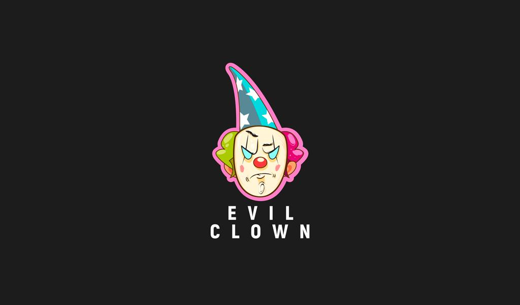 clown game logo
