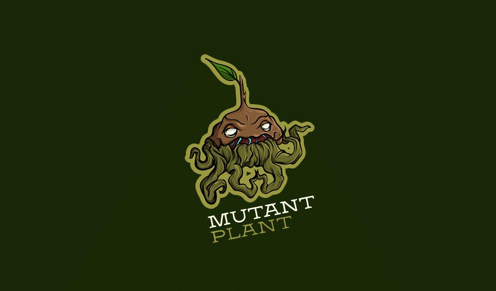 mutant plant game logo