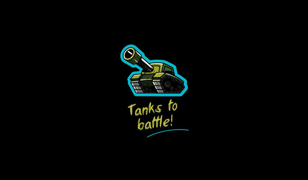 tank game logo
