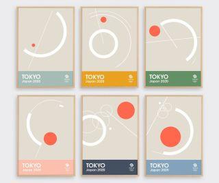 Olympic silkscreens by Tom Pigeon