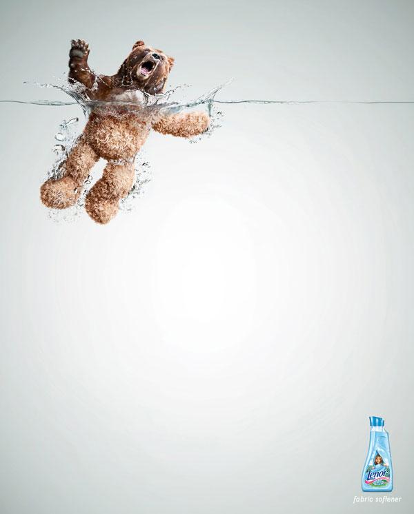 Minimalism in advertising design