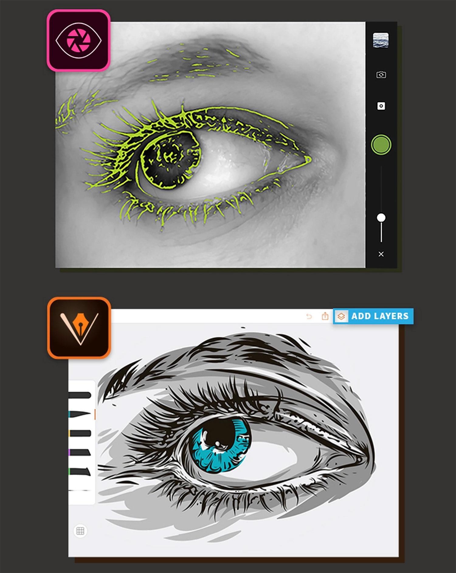 Graphic Design Apps: Adobe Capture CC