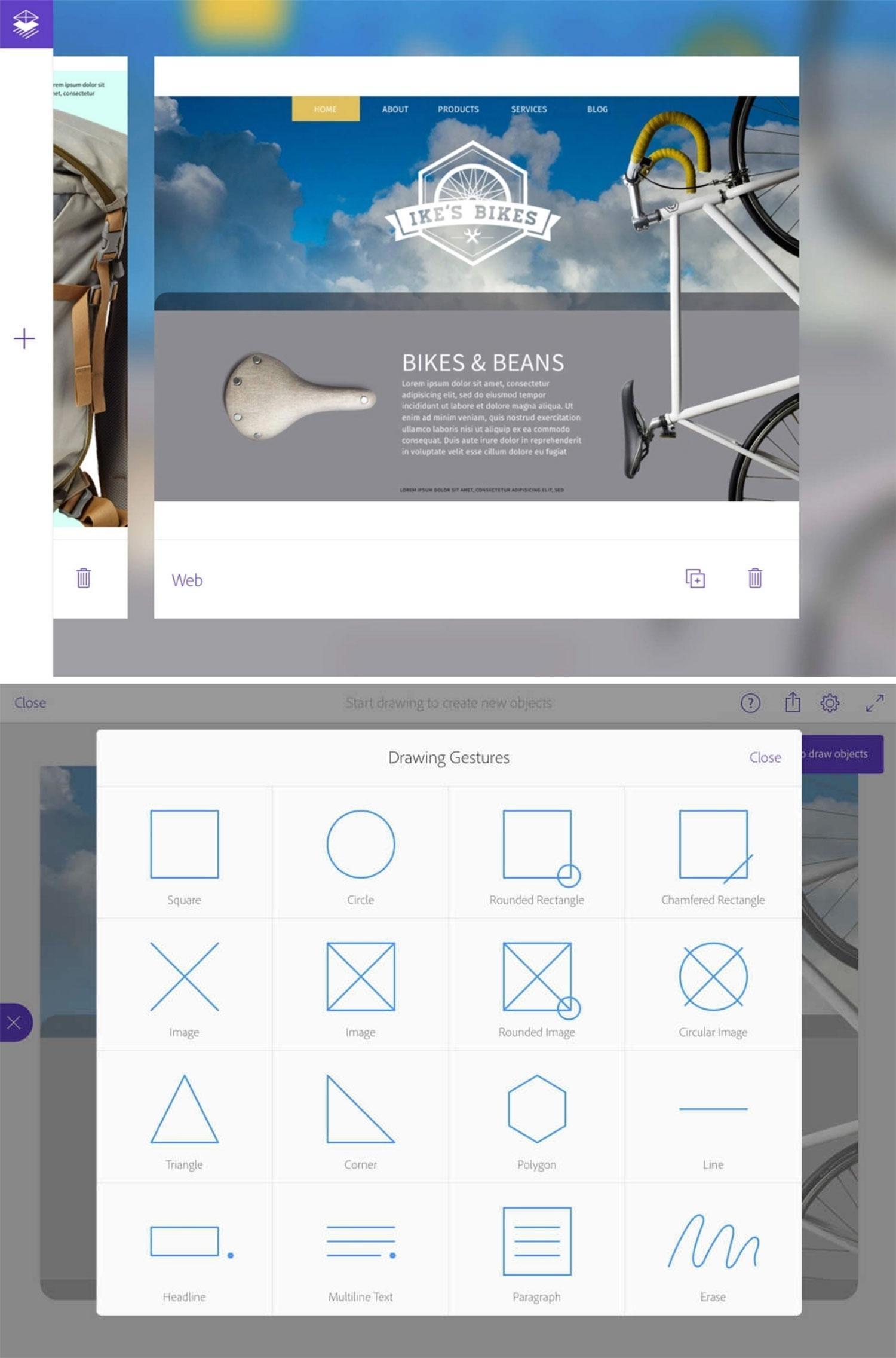 Graphic Design Apps: Adobe Comp