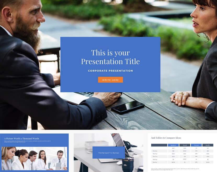 Free Master Business Presentation Template for Google Slides