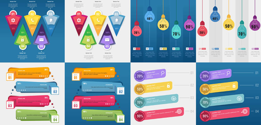 8 free vector templates for Adobe Illustrator