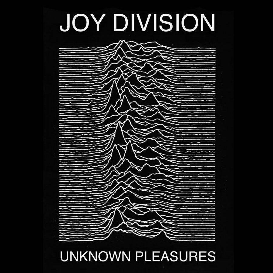 Joy Division's Unknown Pleasures album cover