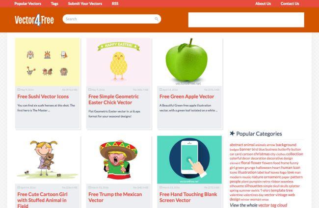 Download free vector art or vectors on these best websites