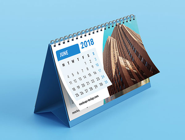 Desk-calendar-mockup