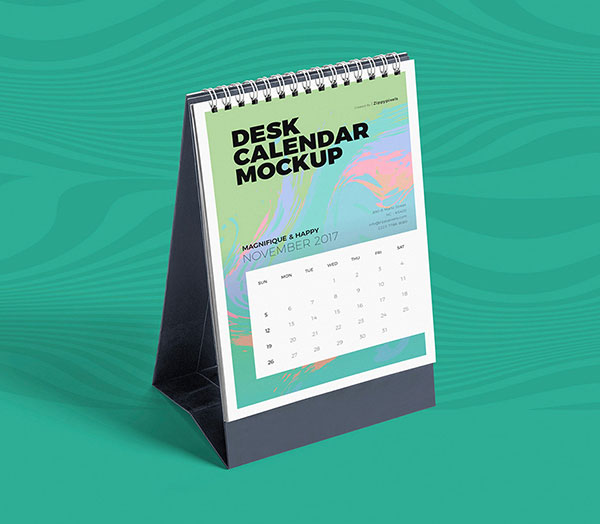 Free Desktop-Calendar-Mockup-PSD