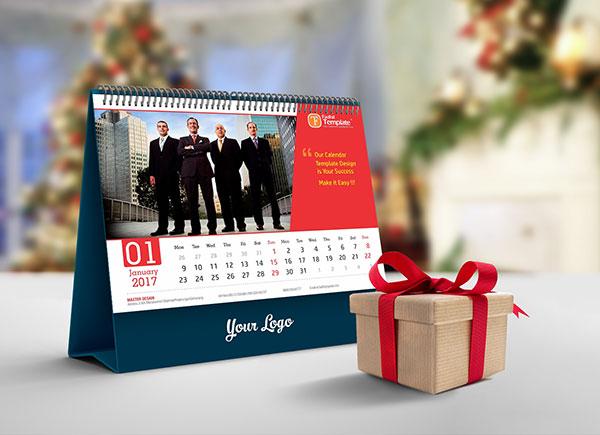 Free Desk Calendar-2019-Mockup-PSD