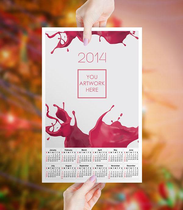 Female-hand-calendar-mockup