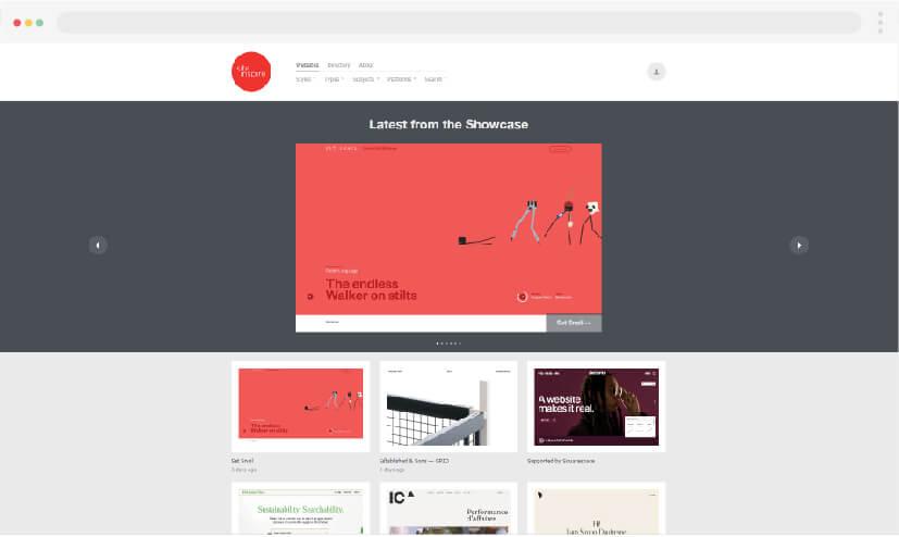 4 Inspiration to make websites Site Inspire