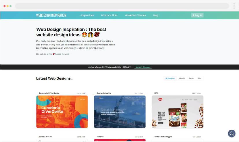 6 Inspiration for web design Inspiration for web design