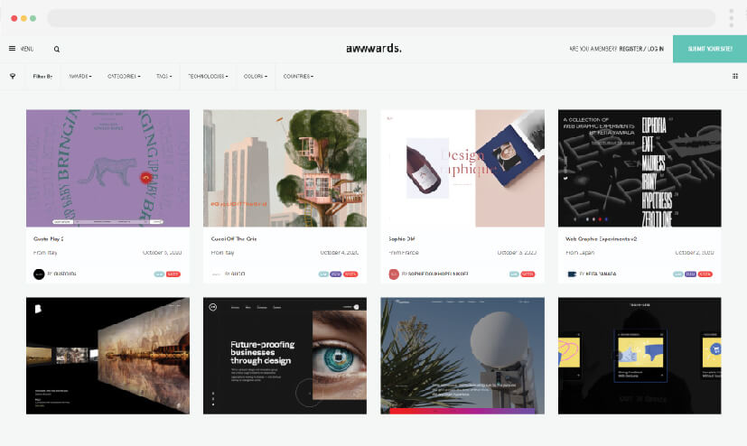 5 ideas for making Awwwards websites