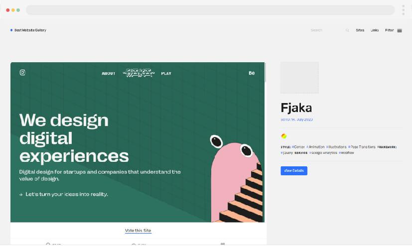 9 Web Design Inspiration Best Website Gallery