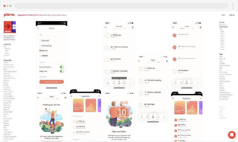 12 Pttrns Website Making Ideas