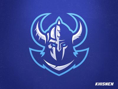 Viking 2018 gaming esports logo warrior branding viking