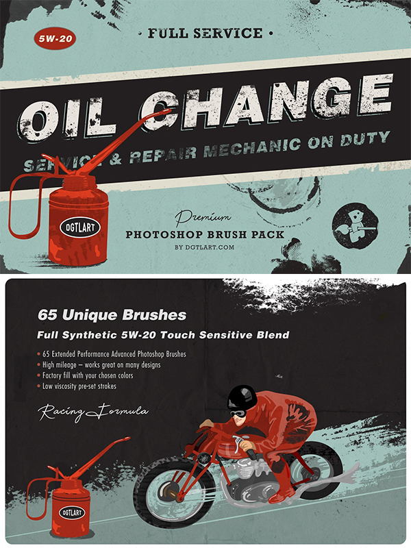 Oil change   Ps Brushes