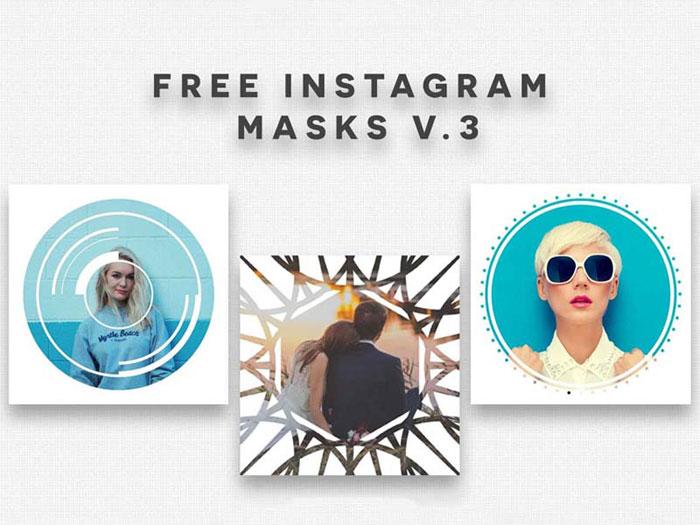 Instaframe-mask-v Instagram templates to download in your presentations