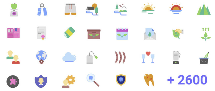Magicons Flat Free Icon Pack