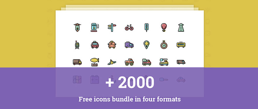 Thousands of Free Icon Packs