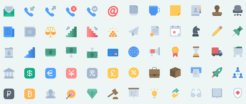 140 Free Essential Icon Pack