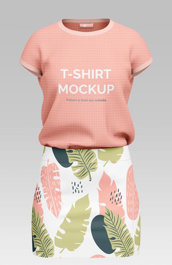 Free T-shirt Mockup Templates PSD - Free T-Shirt Mockup