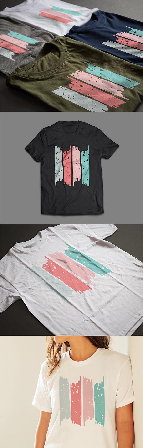 Free T-Shirt Mockup Templates PSD - Free T-Shirt Mockups