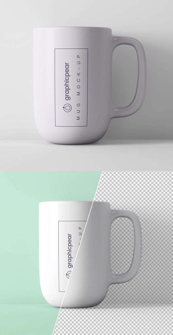 Free Minimal Coffee Cup Mockup PSD Template