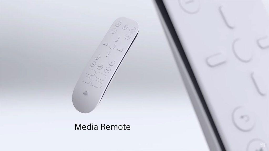 PlayStation 5: remote control