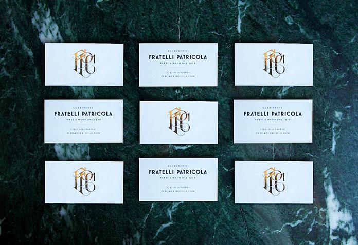 redesign - rebranding Handmade Italian Clarinets