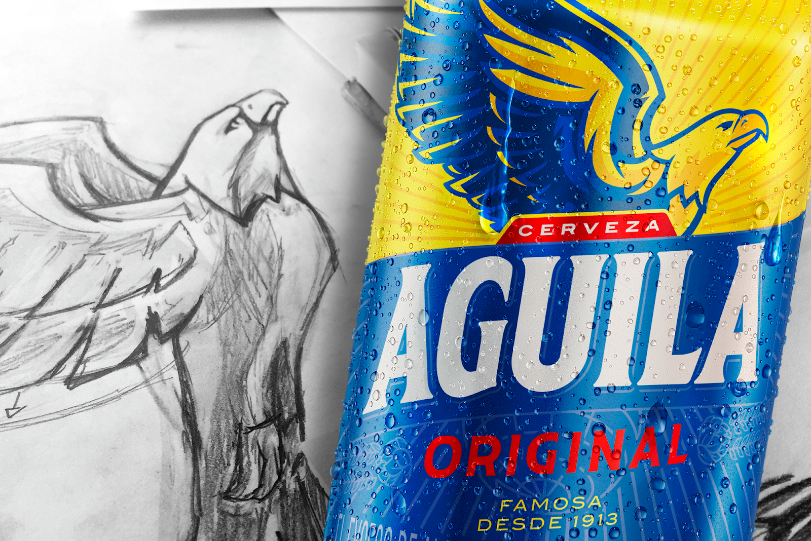 Aguila Beer Redesign