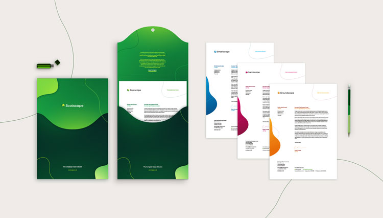 New visual identity and has defined three sub-brands for Scotscape
