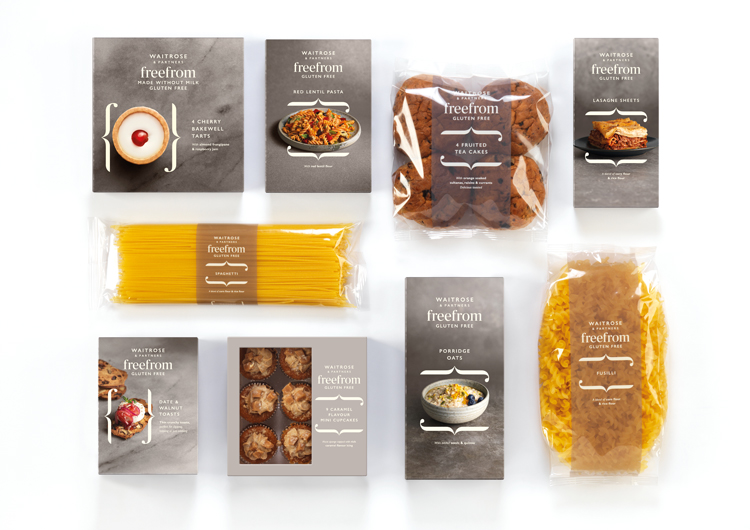 New branding and packaging design