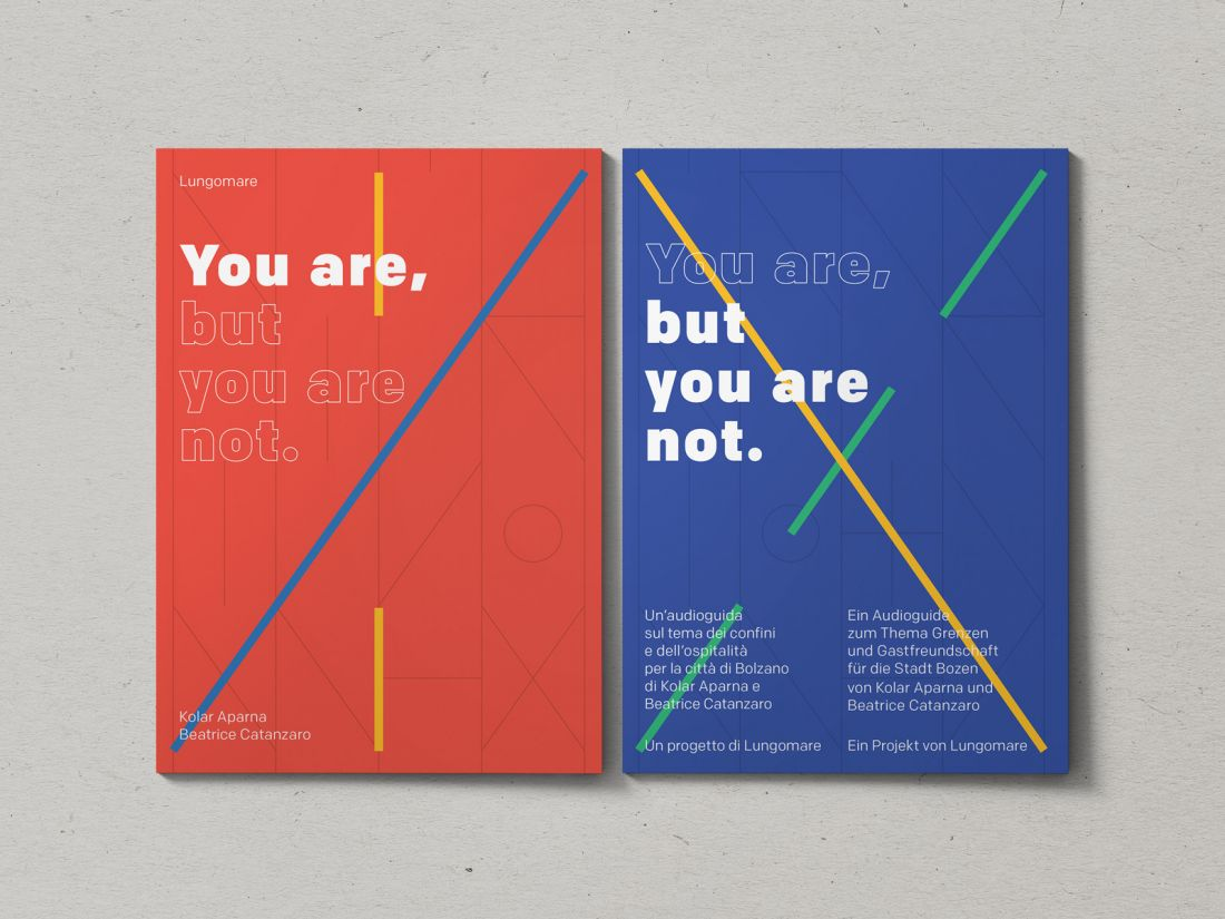 Fonts for Designers, You Are, But You Are Not, by Kolar Aparna and artist Beatrice Catanzaro. Curated and produced by Lungomare. Source: [non-linear.com] (https://www.non-linear.com/projects/you-are-but-you-are-not)